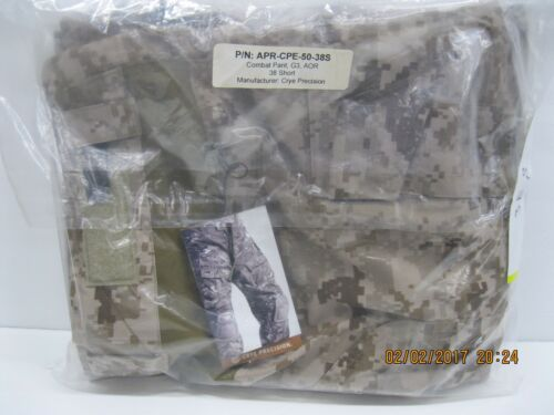 CRYE G3 AOR1 Combat Pants 38 Short APR-CPE-50