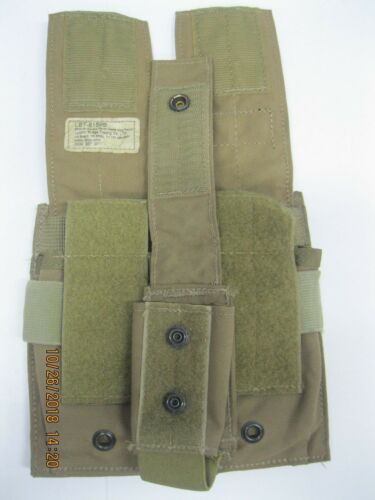 LBT 6159B Dbl 556Mag Pouch &1 40mm/ Grenade POUCH Coyote * Red Label