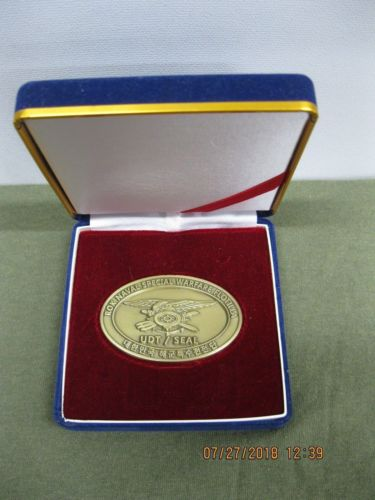ROK NAVAL SPECIAL WARFARE FLOTILA UDT/SEAL *Challenge Coin With Presentation Box