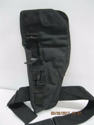 Eagle Drop Leg Left Hand Large Frame Jumpable Holster *DISPLAY PISTOL NOT INC'D