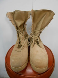 NEW with factory defect USGI WELLCO Tan Type 2 Hot Weather Boot size 15 R
