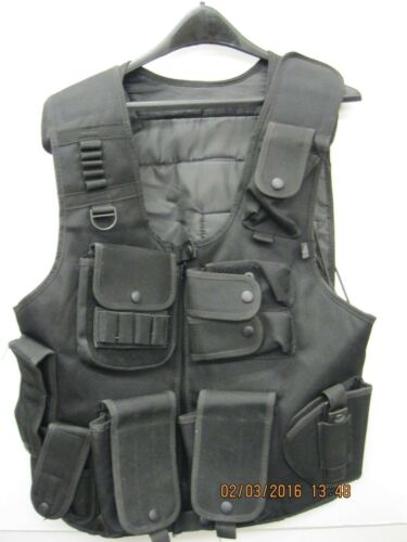 Leapers Law Enforcement SWAT Vest UTG PVC-V548BL Air Soft POLICE SECURITY
