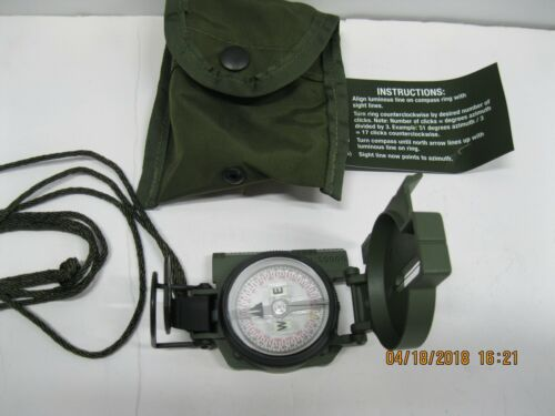 Cammenga Model 3H Tritium Compass Military