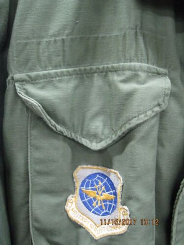 USGI ALPHA M65 Field Coat 1974 LG-Long * USAF *VIET NAM era *