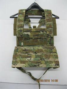 T3 Slick MOLLE SPEAR Chest Rig With Bib MultiCam *NWOT* NSW SWCC SEALs SF PJ