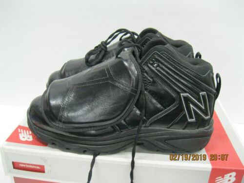New Balance Mens 460 Home Plate Umpire Shoes MU460MBK Black Size 9.5 EE