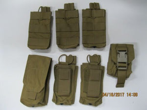 t3 Coyote Pouch Set 7pc #3 **READ FOR CONTENTS