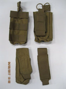t3 Coyote Pouch Set 4pc #2 * Read For Contents ** SEALS SWCC PJ SOF MARSOC