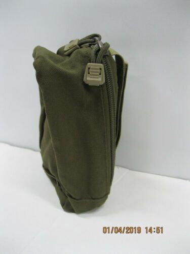 Tactical Electronics Zippered Pouch Brownish- Green