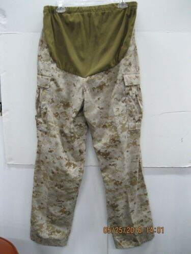 "USMC Desert MARPAT Maternity Pants MR ( AKA "" Eatin' Britches )"