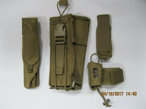 t3 Coyote Pouch Set 4pc #3 **READ FOR CONTENTS