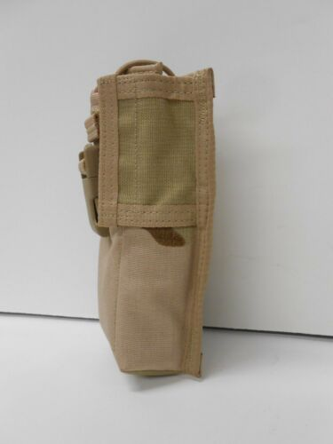 Three (3) Color Desert MBITR Radio Pouch The Resource Center USMC MARSOC NSW