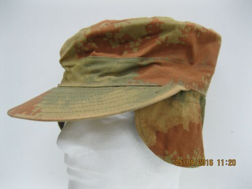 Czech Military Surplus Patrol Cap Sz57cm / US size 7.125 Cold Weather EarFlaps