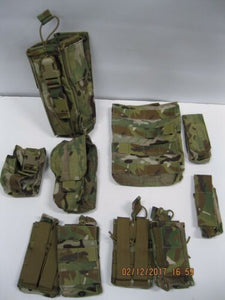 t3 Gear 10pc MultiCam Pouch Set *NWOT SEALS SWCC PJ SOF **READ FOR DESCRIPTION