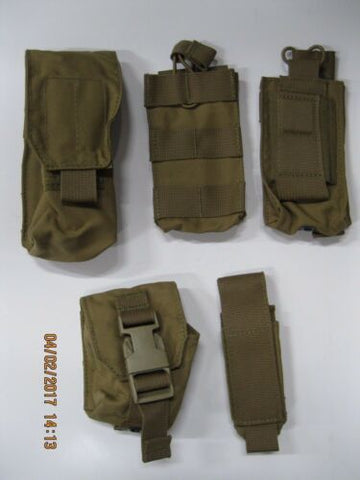 t3 Coyote Pouch Set 5pc **READ FOR CONTENTS **SEALs SWCC NSW PJ SOF MARSOC