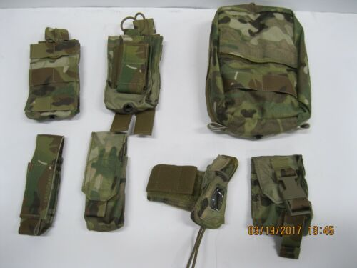 t3 MultiCam Pouch Set 7pc **READ FOR CONTENTS