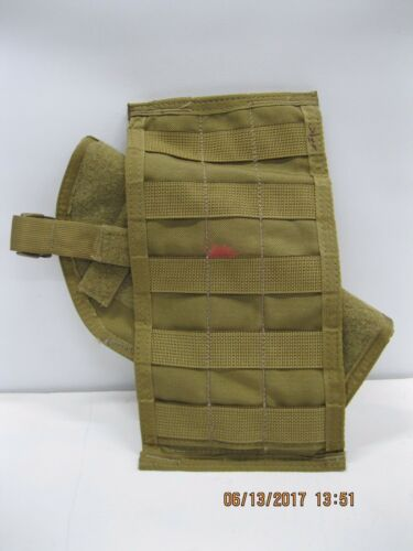 Paraclete MOLLE Velcro Sleeve AND Paraclete Universal Holster Coyote **READ