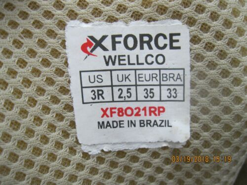 WELCO X-FORCE XF8021RP 3R Tan **READ