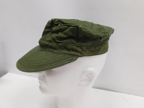 VINTAGE 1970 Cotton Utility Cap Sateen OG-107 Medium