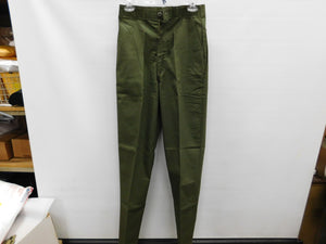 Genuine Vintage USGI Durable Press Utility Trousers OG-507  28x34.5 * NWOT NOS * 1986