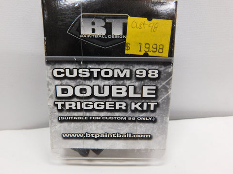 BT PAINTBALL 98 Custom Double Trigger Kit * TIPPMANN 98 Custom PAINTBALL MARKER * NON FIREARM PART