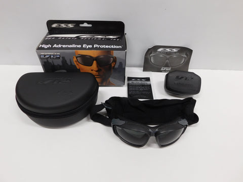 ESS Advancer V12 AVS Goggle Gen2 W/ Black Gray/ Clear Lens