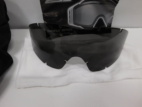 ESS NVG Profile Unit Issue ( Foliage Green w/ ACU Sleeve ) Clear & Smoke Lens