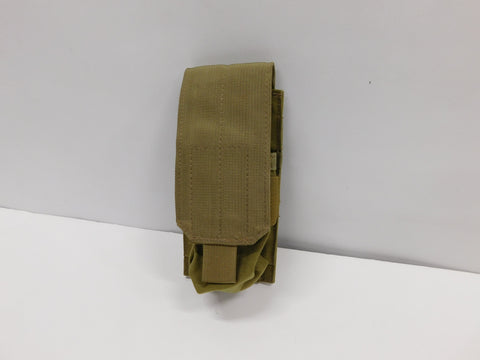 EAGLE Ind  M# 3 Single Mag Pouch  * Khaki  * NOS *NWOT
