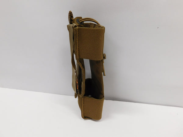 ISAP MOLLE Adjustable MBITR Radio Pouch Coyote
