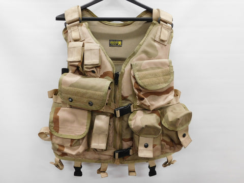 London Bridge Trading Tactical Flotation Vest 1620A-R (RH) 3-Color Desert * Gold Label