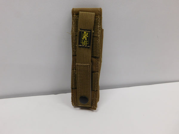 London Bridge Trading Z-Bolt Flashlight Pouch Coyote