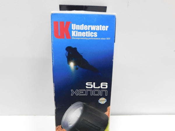 Underwater Kinetics SL6 XENON Dive Light Black
