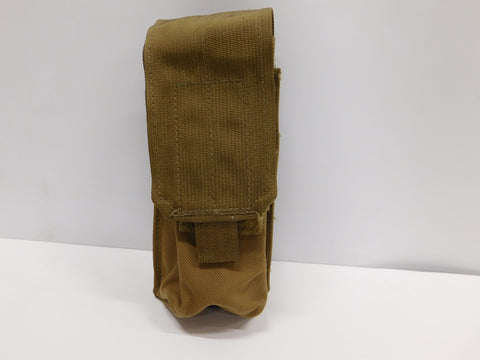 USMC Double Single Pouch NSN 8465-01-558-5167  Coyote  * NEW