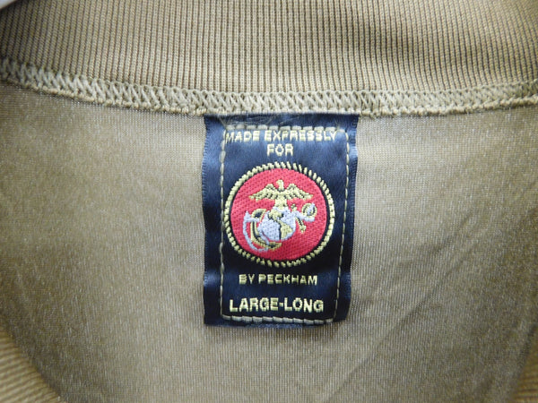 USMC Peckham PolarTec Power Dry Long Sleeve Undershirt LgLong Coyote