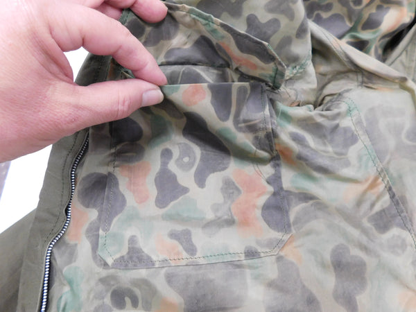 U.S. Army Custom Rain Jacket  GENUINE VINTAGE sz LG *Reversible