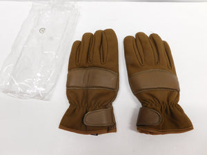 Tactical Gloves Brown XL * Unbranded * Leather Palm * Insulated / Padded
