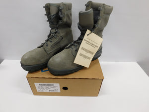 WELCO USAF Men's Combat Boot Temperate Weather Sage Green  6W  * Non-Safety Toe