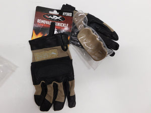 Wiley X Hybrid Gloves Sm * Removable Hard Knuckle