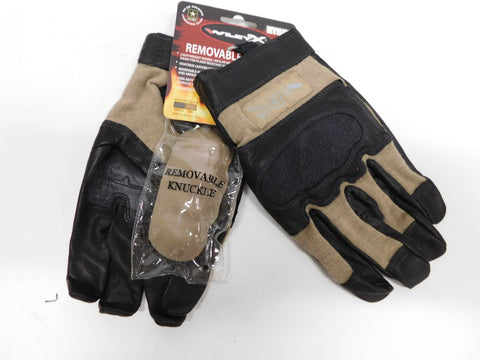Wiley X Hybrid Gloves XXL * Removable Hard Knuckle