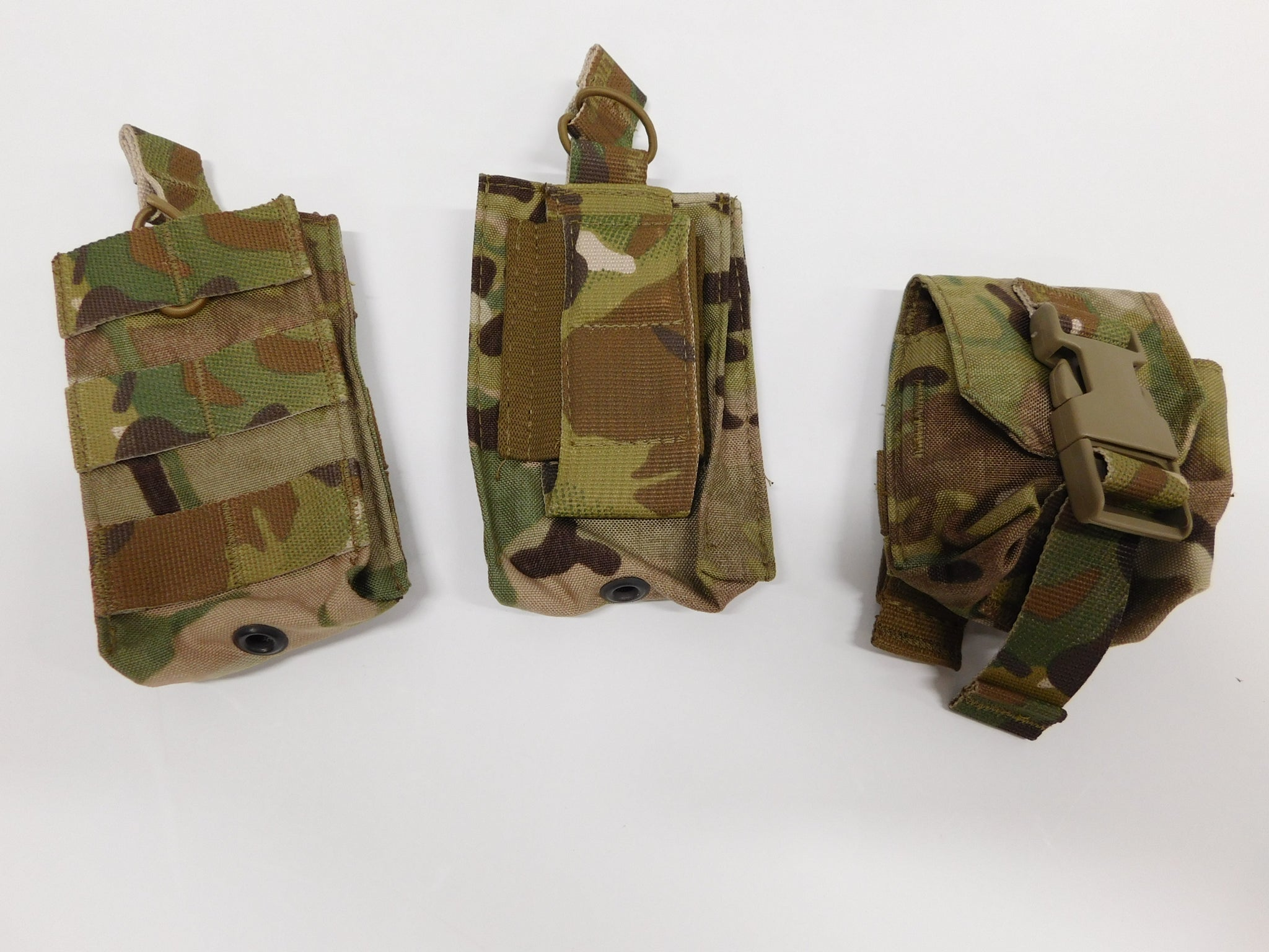 t3 Gear 3pc MultiCam Pouch Set New * MADE IN USA