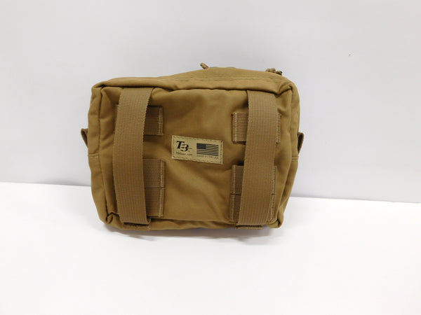 t3 Horizontal Utility Pouch Large Coyote  *MADE IN USA