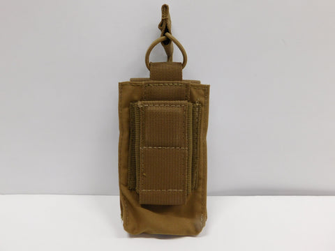 t3 Gear Magnet Single Pistol & Rifle Mag Pouch Coyote * NWOT