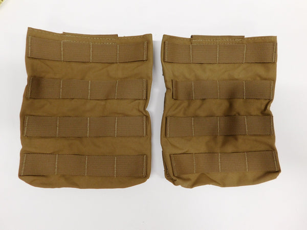 t3 Gear Side Plate Pockets / Pouches 2pcs Coyote  *MADE IN USA
