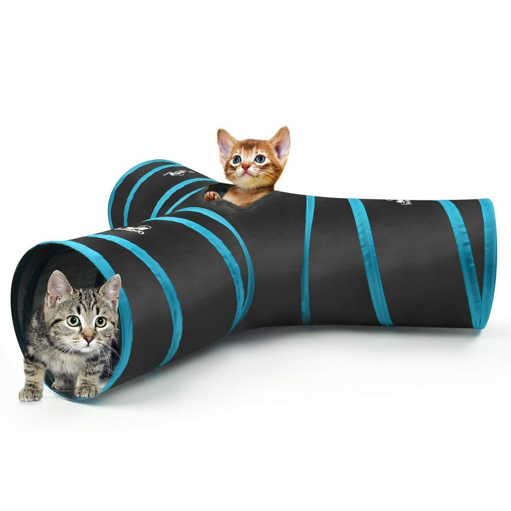 65% OFF | Cat Tunnel Premium I-Shaped / Y-Shaped / T-Shaped / 5-Way Tunnels