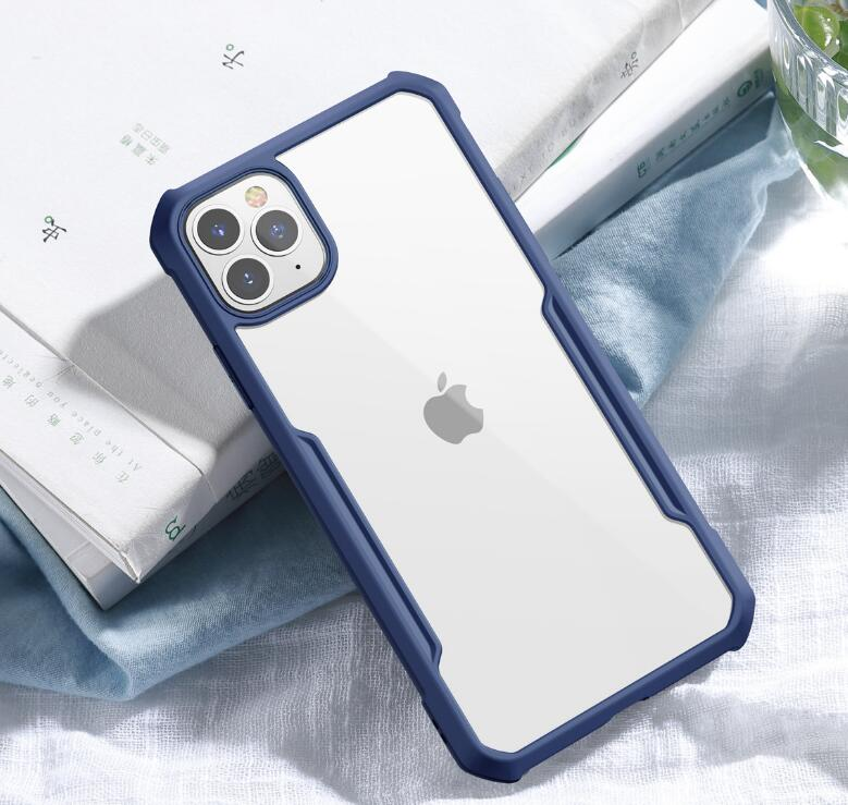 Anti-fall transparent silicone ultra-thin cooling apple protective case