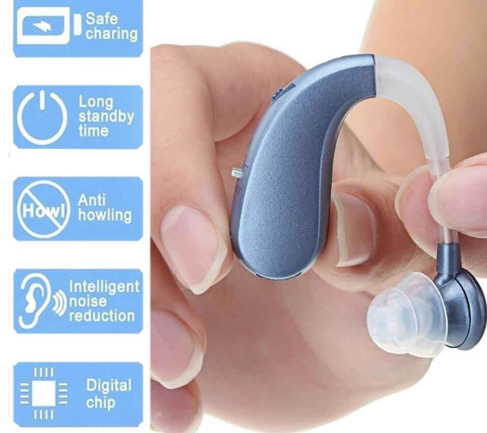 More Glory™-Rechargeable wireless full digital intelligent hearing aid