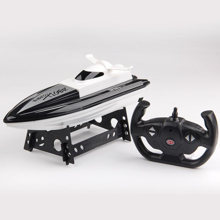 2.4G Remote Control Boat 4CH Dual-motor Ship Toy