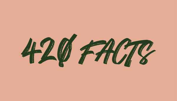 42 Facts about cannabis