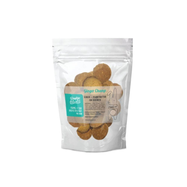 Peanut Butter & Ginger CBD Biscuits