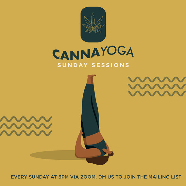 Canna Yoga Sunday Self Care Session: 30 August 2020